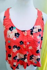Kirra Floral Printed multicolored  Sleeveless Top Size L top
