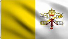 3X5 VATICAN CITY FLAG POPE CATHOLIC PAPAL BANNER F409
