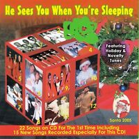 He Sees You When You're Sleeping by VA (CD, Santa 2005, Like NEW Condition)