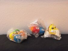 Burger King fast food toy lot of 3 Mip M&M toys from 1997