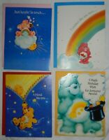 Lot of 30 Vintage 1980's Care Bears Greeting Cards with original envelopes