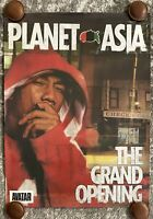 Planet Asia - The Grand Opening - Poster - Vintage - New