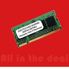 2GB PC2-5300 5300 DDR2 SODIMM 667mhz Laptop 200-pin Memory RAM DELL HP