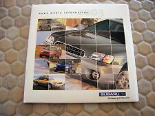 SUBARU OFFICIAL FORESTER BAJA LEGACY WRX PRESS CD BROCHURE 2003 USA EDITION