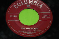 Rare Female Vocal Group 45 : The Paulette Sisters & Peter Hanley ~ Columbia