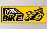 1 THINK BIKE STICKER v003
