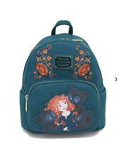 Loungefly Disney Pixar Brave Triplets Mini Backpack Characters Floral Bag