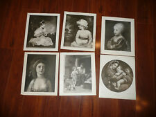 LOT of 6 Perry Pictures Children Various Vintage 1930s Art Prints 10 x 12 READ