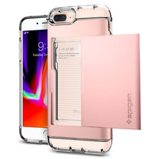 Spigen® Apple iPhone 8 Plus / 7 Plus [Crystal Wallet] Card Holder Case Cover