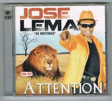 JOSE LEMA - AS MISTURAS - ATTENTION - 2011 - CD + DVD - NEW NEUF NEU