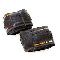 1 or 2 Tire Continental Cyclocross Race 700 x 35C Clincher Bike Tire Gravel