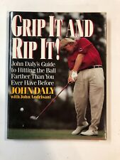 John Daly Book - Grip It And Rip It!  HAND SIGNED
