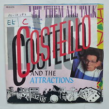 ELVIS COSTELLO AND THE ATTRACTIONS Let them all talk PB 61276