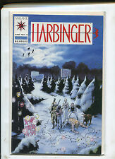 VALIANT HARBINGER #4 WITH COUPON (9.0) HOT MOVIE COMING!