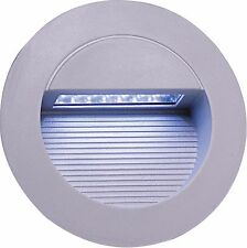 Knightsbridge NH017W Modern Outdoor Round LED Recessed Wall Light Energy Saving