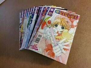 CARDCAPTOR SAKURA by CLAMP   NM   Manga Lot 1-4, 13, 16-21, 24   Mixx 1999-2002