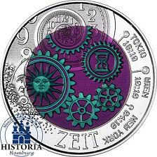 Österreich 25 Euro 2016 Hgh Silber Niob Münze: Die Zeit