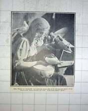 1928 Helga Thomas As Cinderella, Charming German Film