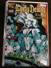 LADY DEATH WIZARD 1/2 THE CRUCIBLE VF+ CHAOS PA15-111