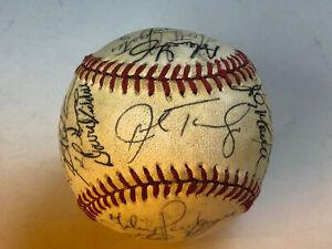 1987 Lynchburg Mets Minor League Autograph Team Baseball Carolina League