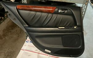 98-05 LEXUS GS300 GS400 GS430 REAR DRIVER LEFT  SIDE DOOR PANEL TRIM BLACK
