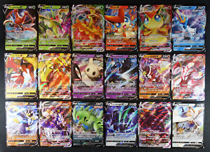 Pokemon Battle Styles Complete V VMAX Set 18 cards NM/M