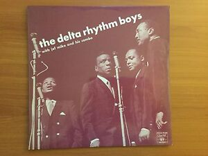 Vinyl LP - The Delta Rhythm Boys with Jef Mike and his Combo