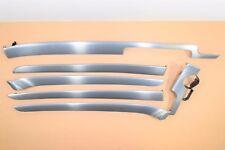 AUDI A4 B6 B7 S-Line RHD Gray Soul Interior Trim Moulding Set WW4 06S Aluminium