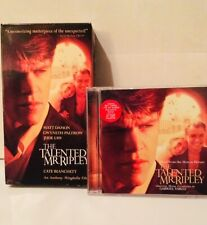 The Talented Mr. Ripley Soundtrack Cd and Vhs Matt Damon Jude Law