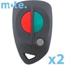 2 x Complete Mitsubishi Remote Magna Verada Keyless 1999-2006 Fob 3 Button TH TJ
