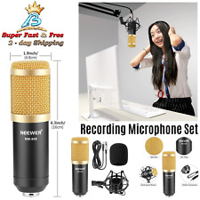 Microphone Package Broadcasting Recording Set Professional  Audio Equipments New