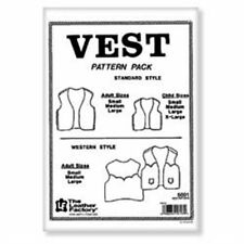 Vest Pattern Pack Standard Style Tandy Leather 6001-00