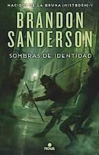 Sombras de Identidad by Brandon Sanderson (Hardback, 2017)