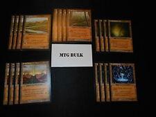 20 Card Sacrifice Tri-Land - Invasion - NM/SP -4x of each - Sets - Magic MTG FTG
