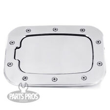 NEW Chrome Non-Locking Gas Fuel Door / FOR FORD F250 F350 SUPERDUTY 2011-2014