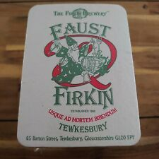 More details for 150 + new vintage beer mats the firkin brewery faust firkin tewkesbury sealed