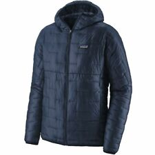 BNWT Men's Patagonia Micro Puff Hoody Navy Jacket Size Small - Brand New!