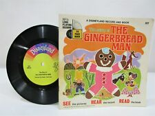 Classic Disneyland Record and Book The Story of the Gingerbread man Book 337