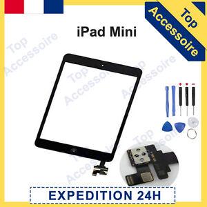 Bildschirm IPAD Mini Touchglas Schwarz Komplett Vormontiert mit Ic Komponente