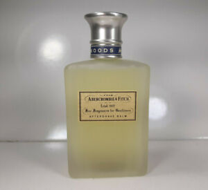 Abercrombie & Fitch Woods Aftershave Balm 3.4oz Vintage