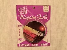 Niagara Falls Super 8mm Movie Eastman Color Movies 1972