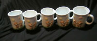 Vintage Bone China Baby Milk Cups Coffee Cups Mugs Made in Japan Balloons Bears