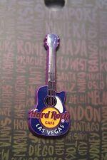 Hard Rock Las Vegas 2016 Exclusive Guitar Purple & Blue Pin
