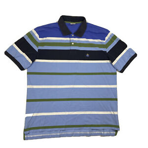 Brooks Brothers Original Fit Performance Polo Mens XL Multicolor Striped S/S