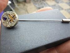 Vintage Steampunk Bavero/Cravatta/cravate Pin Viola Swarovski Crystal