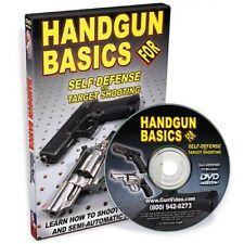 DVD Handgun Basics For Self-Defense and Target Shooting 7659