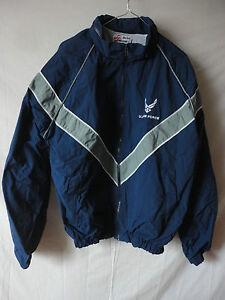 US Air Force - Sportkleidung / Jacke ( blau )