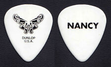 Heart Nancy Wilson Signature Butterfly White Guitar Pick 2013 Heartbreaker Tour