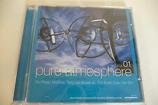 PURE ATMOSPHERE VOLUME 01 CD DE-PHAZZ MODRIVE NOR ELLE LEMONGRASS CATALDO..