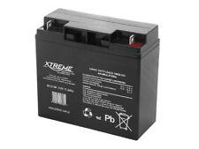 Bleiakku 12V 17Ah Blei Akku Gel Battery Batterie Wartungsfrei Luftdicht Xtreme.